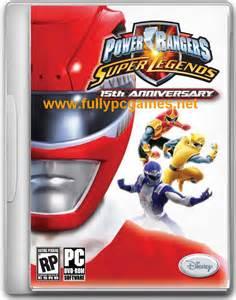 Power Rangers Super Legends Games
