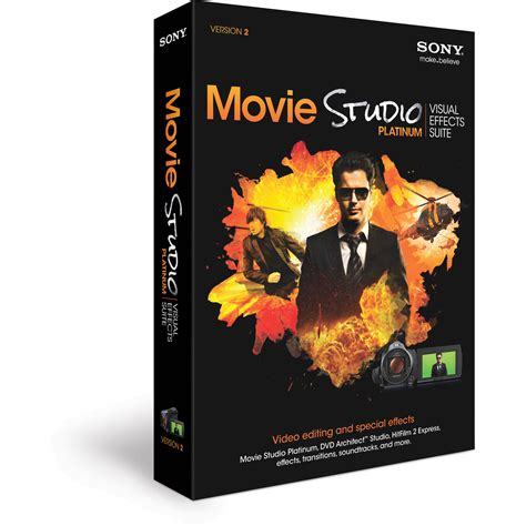 Sony Movie Studio Platinum 12 MVES2000 B&H Photo Video