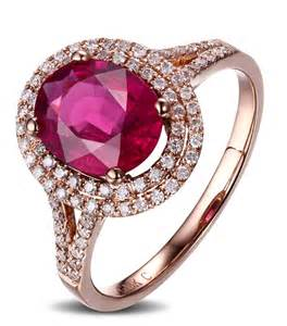 and pink sapphire engagement ring 2 carat pink sapphire and halo engagement ring in gold for jewelocean