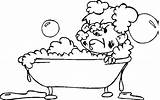Coloring Bath Pages Bathroom Taking Animated Picgifs Getcoloringpages Bubble Bird Toilet Printable sketch template