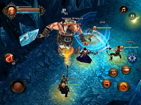 dungeon si鑒e dungeon android jeu 2015