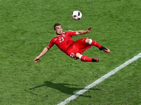 Euro 2016: Xherdan Shaqiri scores goal of the tournament ...