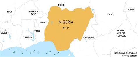 Administrative Map Of Nigeria