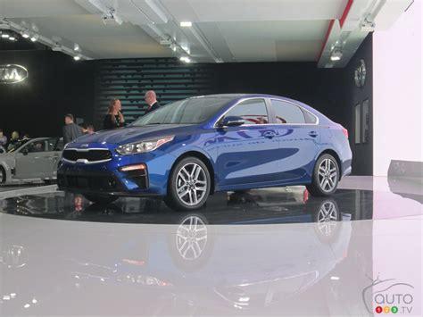 kia forte showcased   montreal auto show
