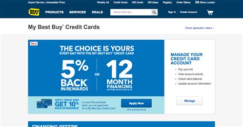 Best Buy Business Credit Card  Business Card Design