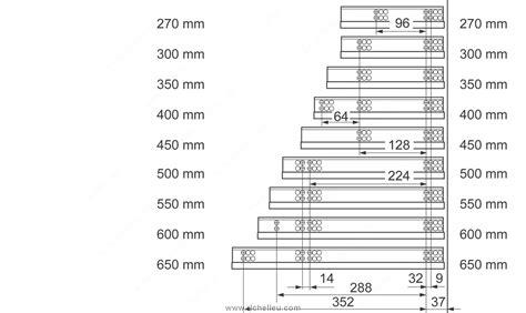 cuisine blum 560h concealed extension drawer slides 30 kg 66 lb