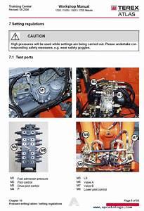 Terex Atlas 1305m 1505m 1605  1705m Service Manual Pdf Download