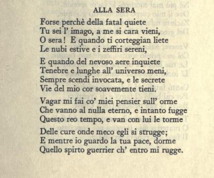 Sepolcri Foscolo Testo - ugo foscolo poeti italiani poem feelings