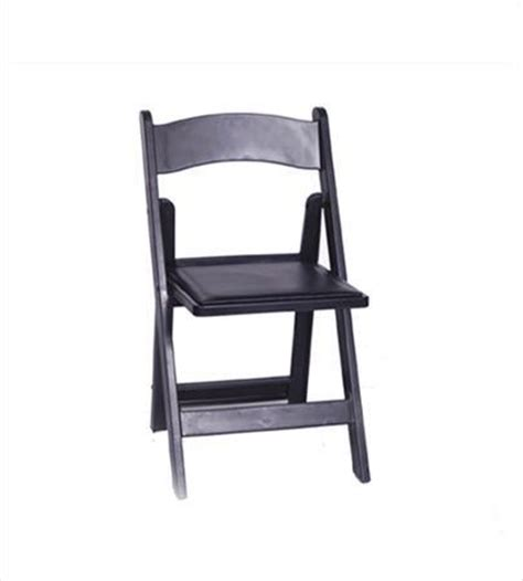 rental products black folding chair chairs smith