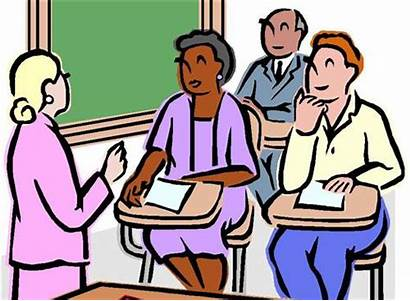 Adult Class Education Basic Clipart Classes Program