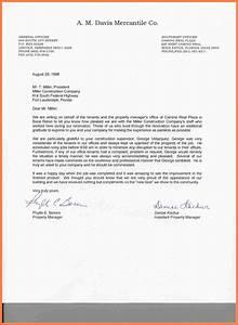 4 Company Recommendation Letter Company Letterhead