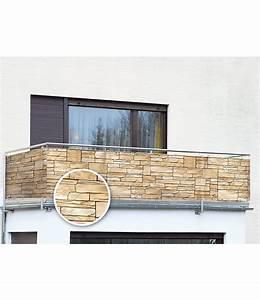 WENKO Balkon Sichtschutz Mauer5 M Gnstig Online Kaufen