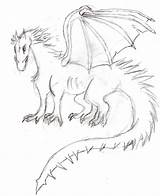 Ice Dragon Pages Coloring Fire Template Sketch sketch template
