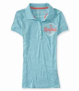 Aeropostale Womens New York City Polo Shirt | eBay