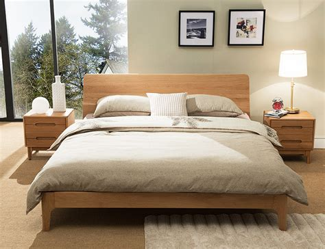 Wood Bed Frame With Headboard by Wooden Bed Frame Beaumont Edition Wood Bed Frame