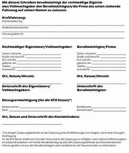 Kfz Versicherung Berechnen Ohne Anmeldung : vollmacht zur kfz zulassung im kfz versicherung lexikon erl utert ~ Themetempest.com Abrechnung