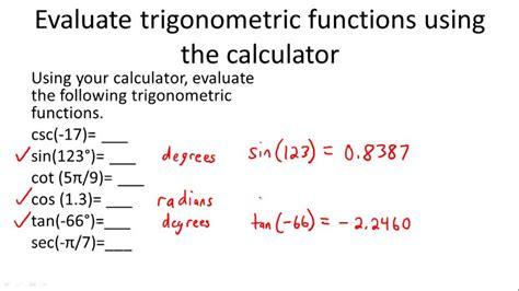 Trigonometry And The Unit Circle ( Video )  Trigonometry  Ck12 Foundation