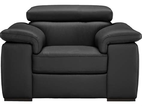 Natuzzi Editions Carlin Leather Electric Recliner Armchair
