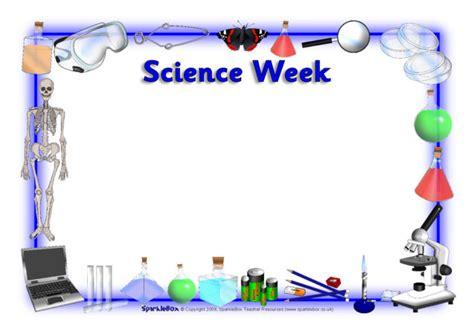 Science Week / Science A4 Page Borders (SB2151) - SparkleBox