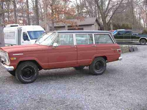 1970 jeep grand wagoneer buy used 1970 jeep wagoneer 4x4 with lock out hubs in