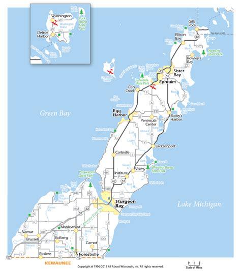 map of door county wi history in wisconsin stormfront