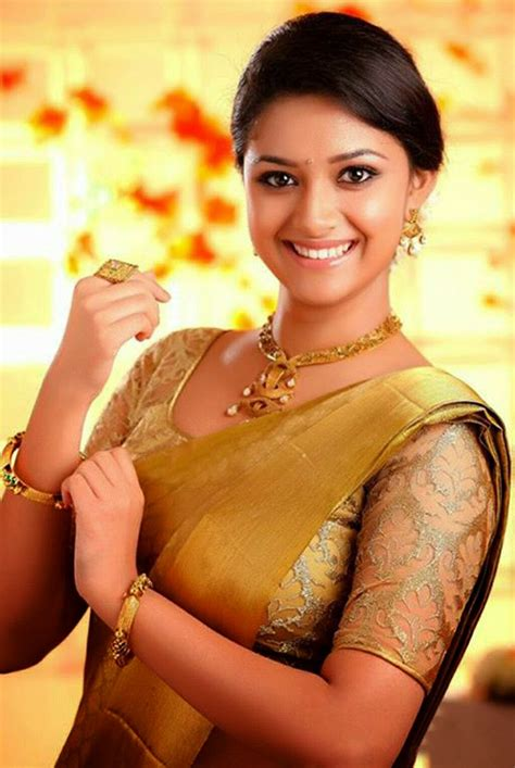 South Beautiful Keerthi Sureshmenaka Daughteractress