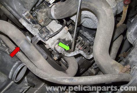 volvo  power steering pump replacement