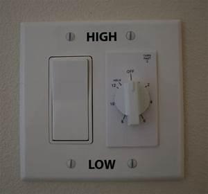 Whole House Fan Timer