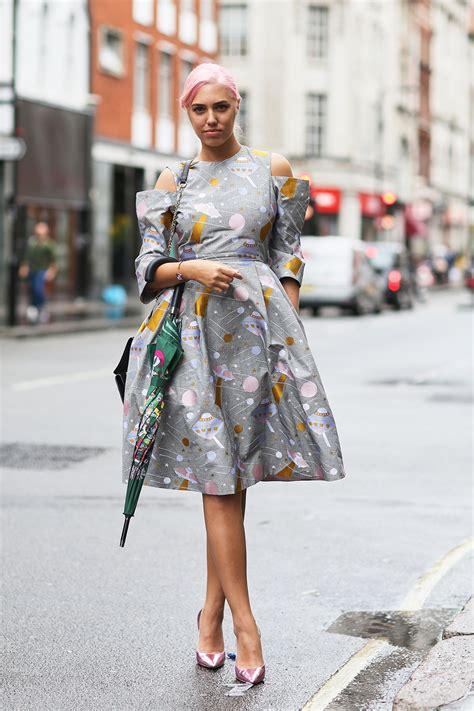 london fashion week ss17 street style day 1