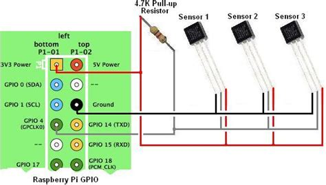 connect temperature sensors with raspberry pi reuk co uk