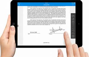 how to digitally sign a document on android With sign documents on android
