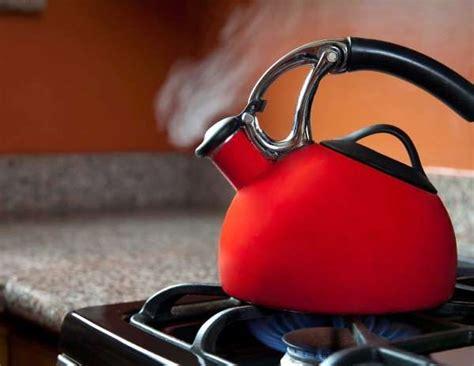 fast tricks  clean  house   sleep tea kettle kettle gas stove