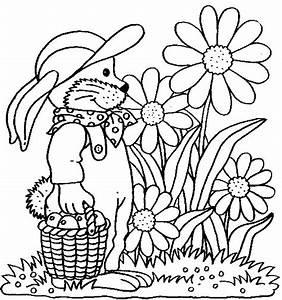 Jardin Dessin Couleur : coloriage jardin fleurs et fruits dessin gratuit imprimer ~ Melissatoandfro.com Idées de Décoration