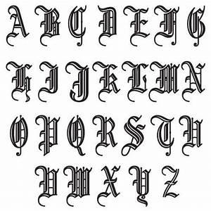 initial letter font old english vintage decoration vinyl With old english vinyl letters
