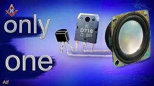 Simple Audio Amplifier Circuit