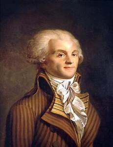 robespierre39s face armchair general and historynet With robes pierre