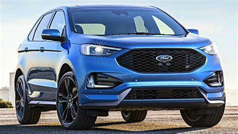2019 Ford Edge St (interior, Exterior, And Drive) All