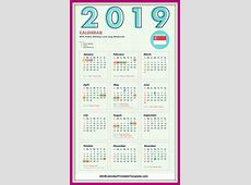 2019 Calendar Singapore 2019 Calendar Printable Template Holidays Free Download