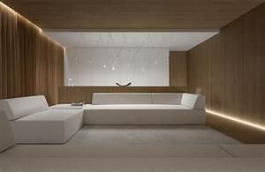 Wohnzimmer Holz Modern : indirekte beleuchtung led wohnzimmer modern weisse moebel holz wand verkleidung licht ~ Indierocktalk.com Haus und Dekorationen