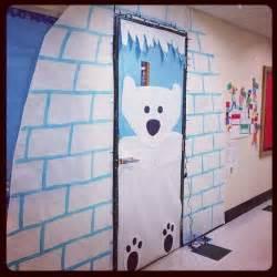my winter classroom door christmas pinterest for