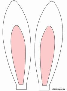 free printable bunny ears easter rabbit ears easter With easter bunny hat template