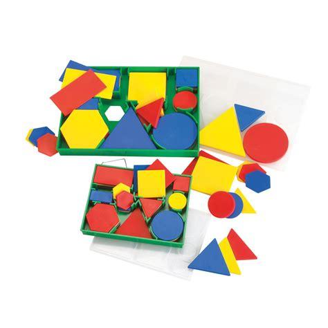 attribute blocks geometric shapes maths curriculum