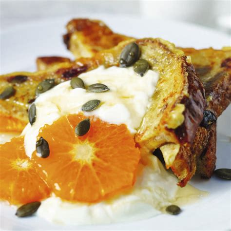 Toasting Pumpkin Seeds Cinnamon Sugar by Cranberry And Raisin French Toast Cook With M Amp S