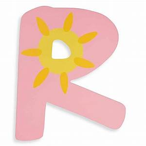 pastel colored wooden letter quotrquot bedbathandbeyondcom With pastel letters
