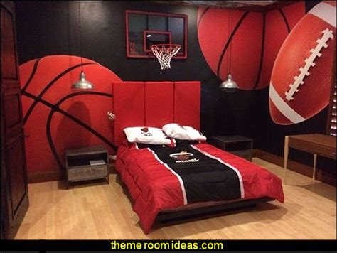 Decorating Ideas For Hockey Bedroom by Decorating Theme Bedrooms Maries Manor Sports Bedroom