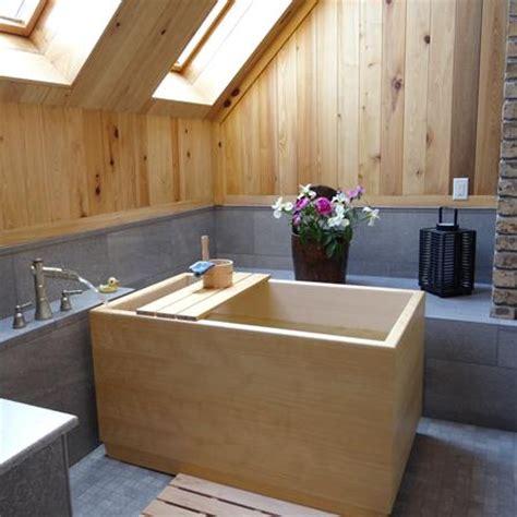 Ofuro Soaking Tubs by Zen Bathworks Onsen Ofuro 60 X 30 Singapore Bathtubs