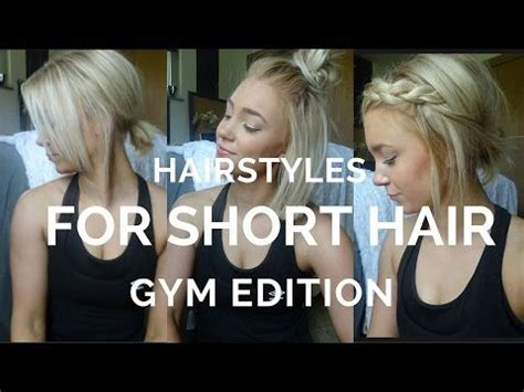 easy hairstyles  short hair youtube hairstyles