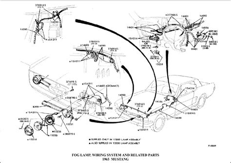 Fog Light Wiring Diagram For 1990 Ford Mustang by 1965 Mustang Gt Fog Light Wiring Ford Mustang Forum