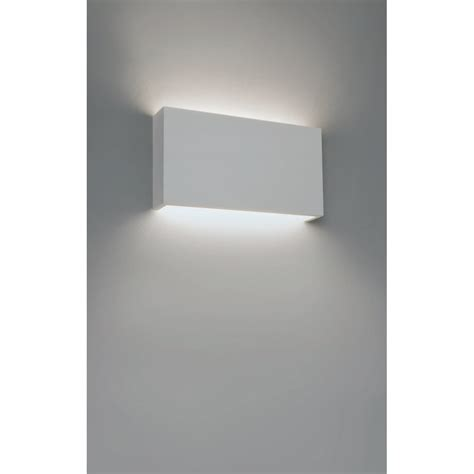 astro lighting 325 contemporary wall light in white plaster finish 1325005 lighting from