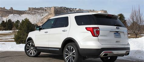 2016 Ford Explorer Platinum With Tim